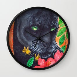 The Black Panther Wall Clock