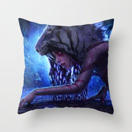 The Bloodlust Throw Pillow