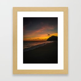 Sunset Cabo Framed Art Print