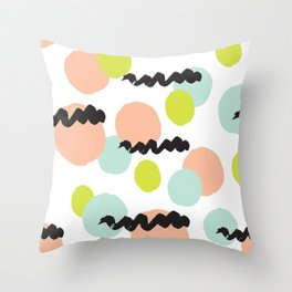 Funny Party Throw Pillow