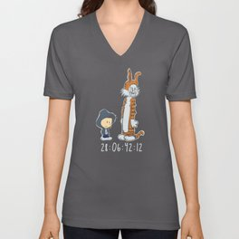 Donnie and Frank Unisex V-Neck