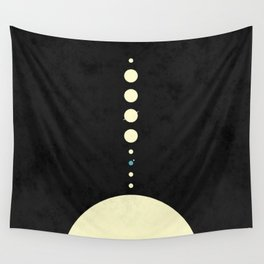 HOME IN THE SOLAR SYSTEM Wall Tapestry