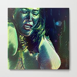 Olivia: Township Vampyre Metal Print