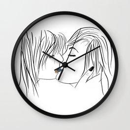 nice to meet you Wall Clock