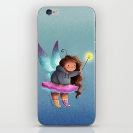 the lazy fairy godmother iPhone Skin