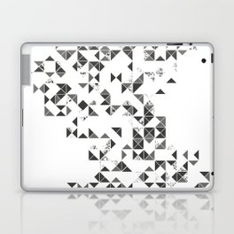 TRIANGLES B&W Geometric print Laptop & iPad Skin