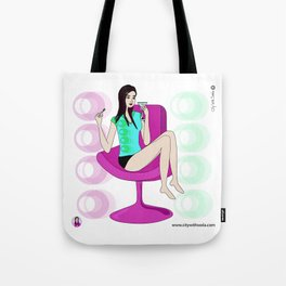 Cocktail with Chloe Tote Bag