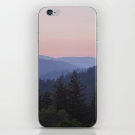 Sunset in the Santa Cruz Mountains iPhone Skin
