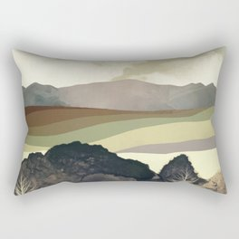 Retro Afternoon Rectangular Pillow