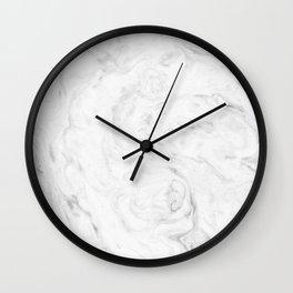 Light grey marble Wall Clock