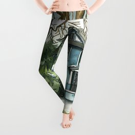 The House Under the Big Tree Leggings