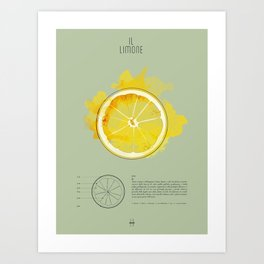 IL LIMONE Art Print