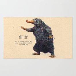 Niffler art Fantastic Beasts Rug