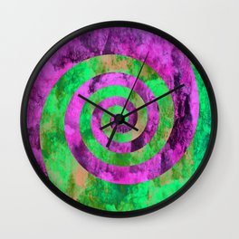 Could Spirals   Wall Clock