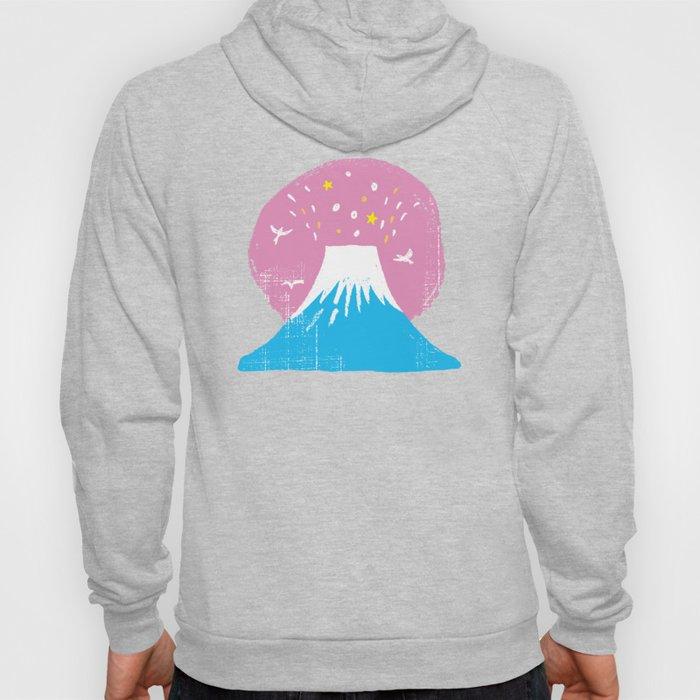 "Symbol of happiness ""Mount Fuji"" Japan Hoody"