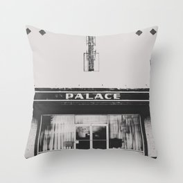 Palace Theater - Marfa, Texas Throw Pillow