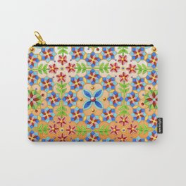 Decorative Tangerine Gothic Carry-All Pouch