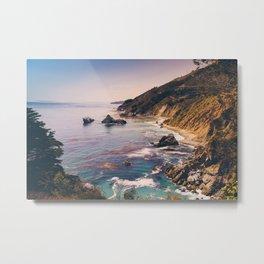 Big Sur Pacific Coast Highway Metal Print