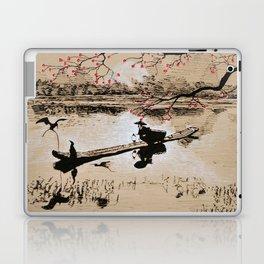 Bird Fishing Laptop & iPad Skin