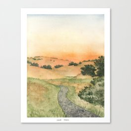 Sonoma: Crane Creek Canvas Print