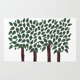 A Walk in the Woods Rug