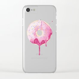 Glazed Clear iPhone Case