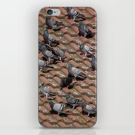 Pigeons on the Roof iPhone Skin