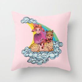 ALMA Throw Pillow
