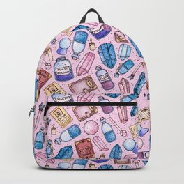 Witchy Stuff Pink Backpack