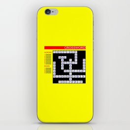 Crossword iPhone Skin