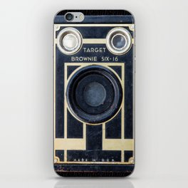 Vintage Brownie Camera iPhone Skin