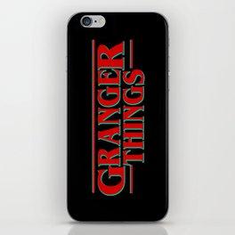 Granger Things ! iPhone Skin