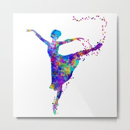 Dance First, Think Later Metal Print