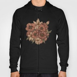 Poppies and Lilies Hoody