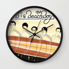 The Big Beach Theory Wall Clock