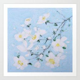 Dogwood Spring Art Print