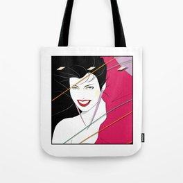 Pop Culture Design Tote Bag