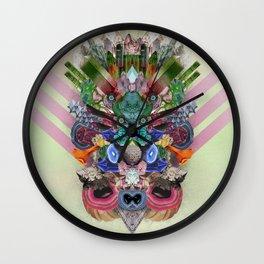 Abstract Gems  Wall Clock