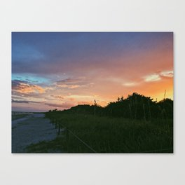 Purple Twilight Canvas Print