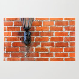 Brick Wall Light Rug