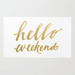 Hello Weekend Rug
