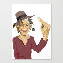 FUCK! Canvas Print