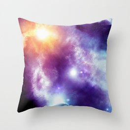 Universe 3D T-Shirt Throw Pillow