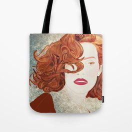Jessica Chastain Tote Bag