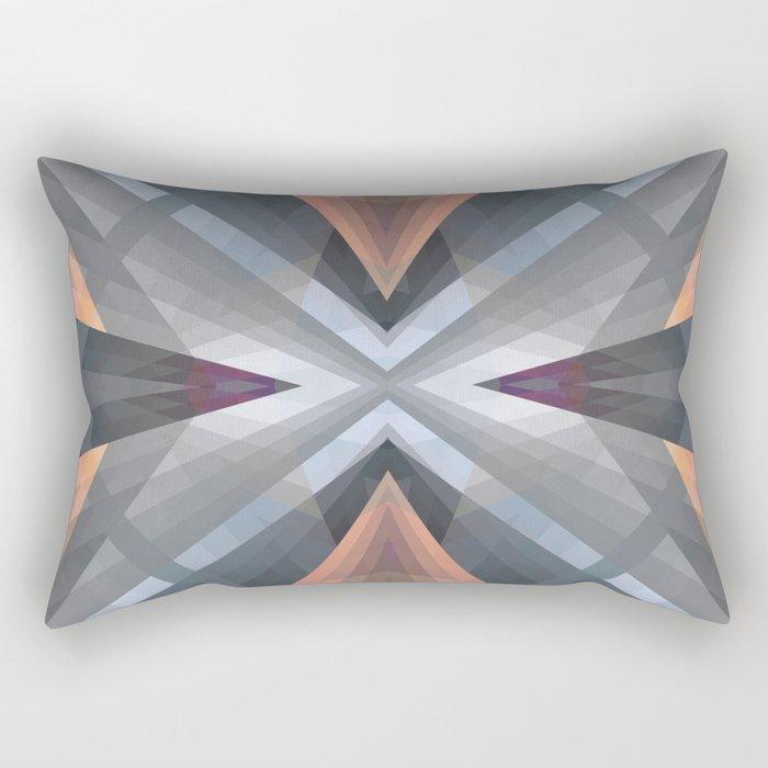 Geometric Mandala 08 Rectangular Pillow