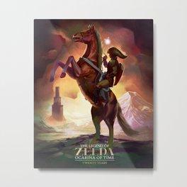 Ocarina of Time: Twenty Years Metal Print