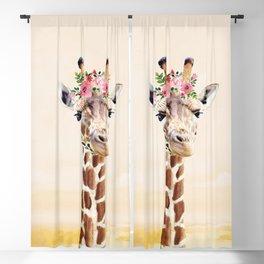 Giraffe Blackout Curtain