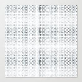 joy alphabet [ need more toner ] Canvas Print