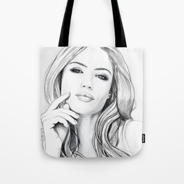 Xenia Tchoumitcheva Portrait of an angel Tote Bag