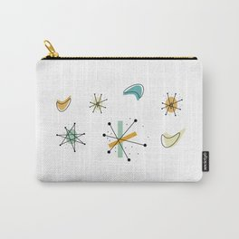 1950s Retro Atomic Pattern Carry-All Pouch